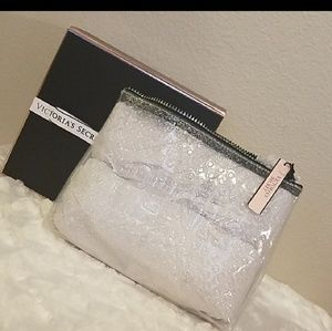 Last one! NWT! Victoria's Secret Glitter Dot Bag
